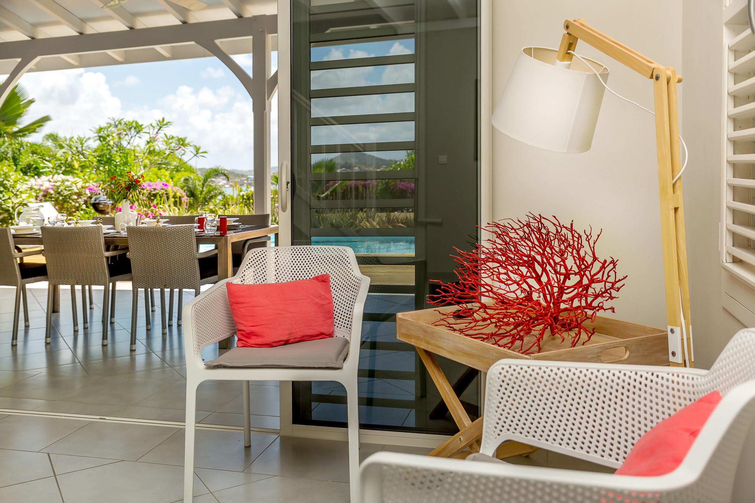 Royal palm villa de reve vue mer et campagne for Villa de reve