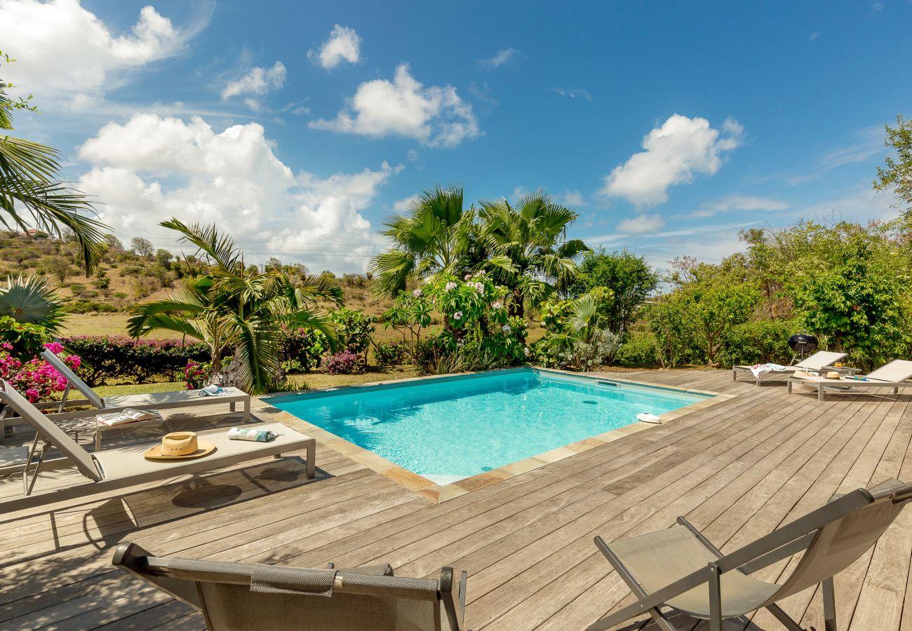 Silver palm location maison martinique avec piscine for Villa vacances piscine