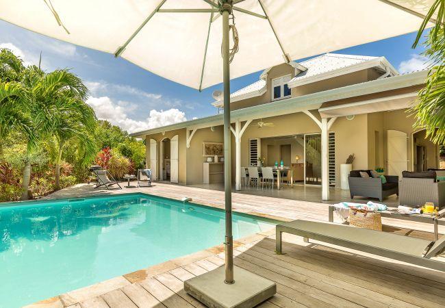 Villa à Le Vauclin - Areca Palm - Magnifique villa, spacieuse avec piscine privée et vue mer
